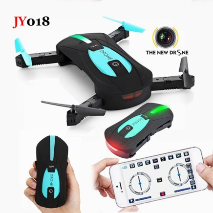 JY018-ELFIE-WiFi-FPV-Quadcopter-Mini-Foldable-Selfie-Drone-RC-Drones-with-2MP-Camera-HD-FPV